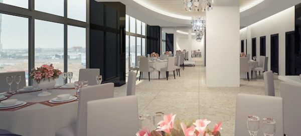 Salon de Eventos – Quo Luxury Apartments