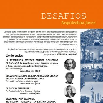 4to Ciclo de Conferencias ARQ + URB